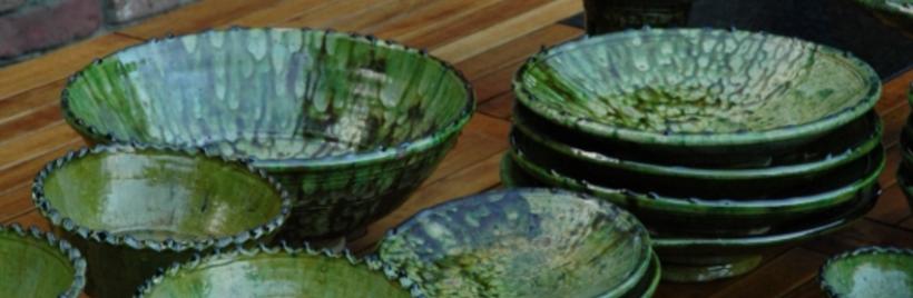 De la vaisselle en céramique