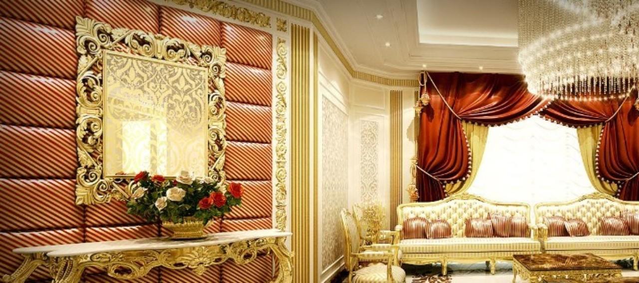 Décoration magnifique d'un palace