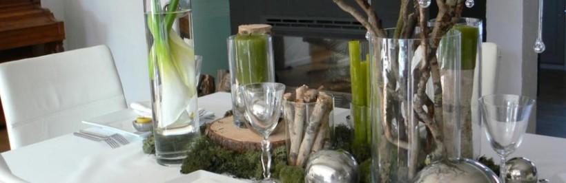 Une déco de table style nature