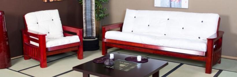 Des futons japonais assortis