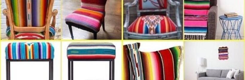 Des meubles mexicains aux couleurs traditionnelles