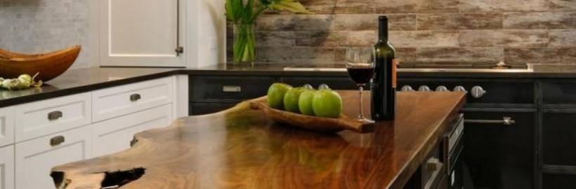 Une décoration en bois massif pour donner un côté naturel