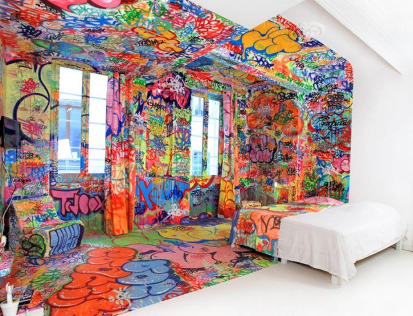 Chambre street art