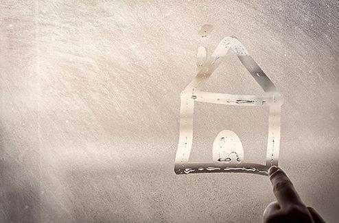 Humidité sur une fenêtre